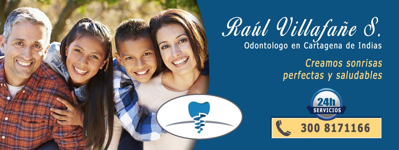 Odontologo en Cartagena y urgencia a domicilio - Raúl Villafañe Saldarriaga