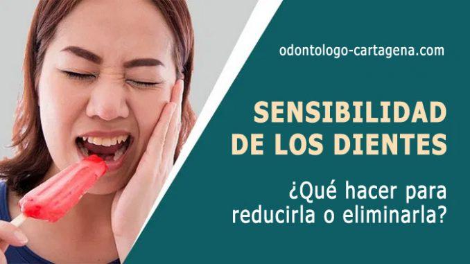 Sensibilidad de los dientes