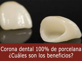 Corona dental porcelana
