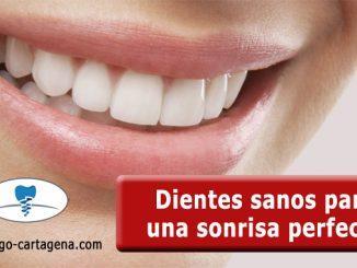Dientes sanos para una sonrisa perfecta