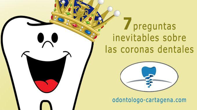 7 preguntas inevitables sobre las coronas dentales