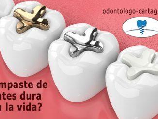¿El empaste de dientes dura toda la vida?